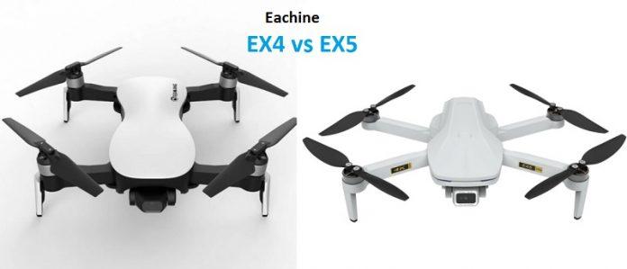 Eachine EX4 versus Eachine EX5