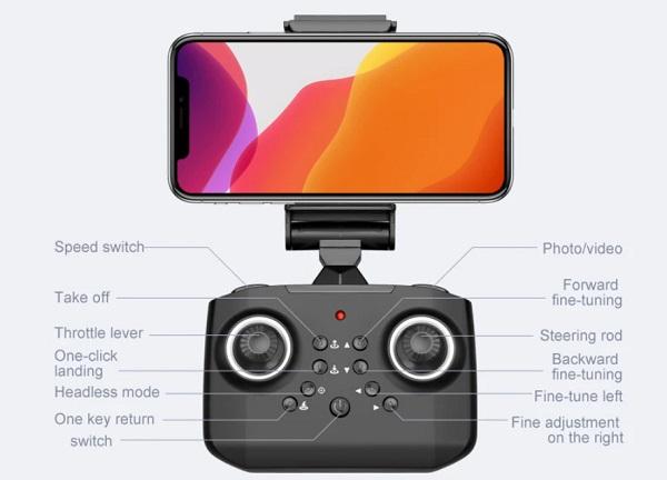 LS-XT6 remote controller