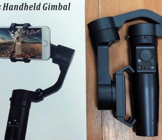 photo of LEDISTAR F3 phone gimbal