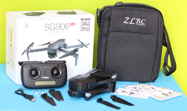 ZLRC SG906 PRO 2 review: Unboxing