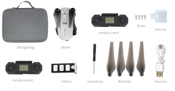 Accessories of iCat7 Pro drone