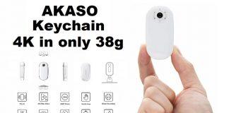 Photo of AKASO Keychain camera