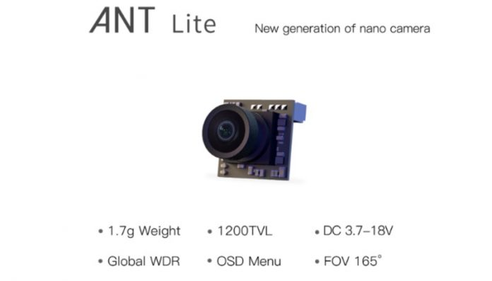 Photo of Caddx Ant Lite camera
