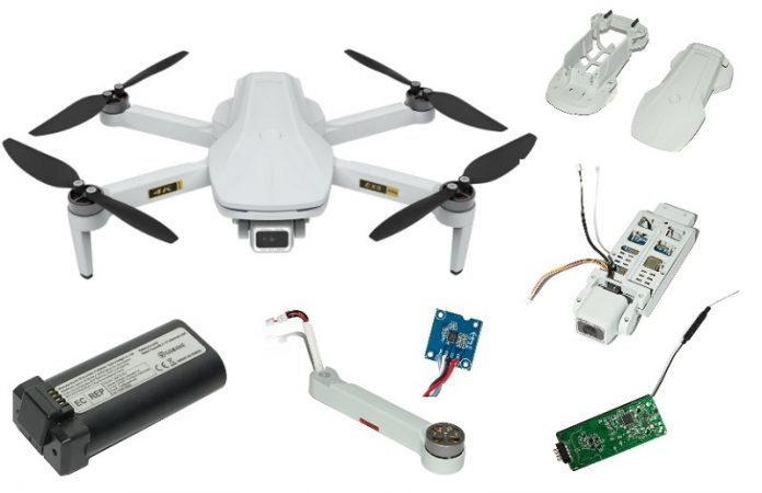 Repair parts for Eachine EX5 drone