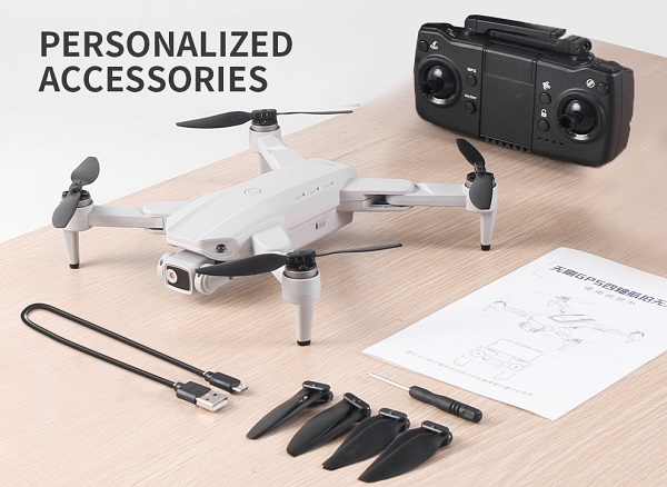 Included accessories with LYZRC L900 drone