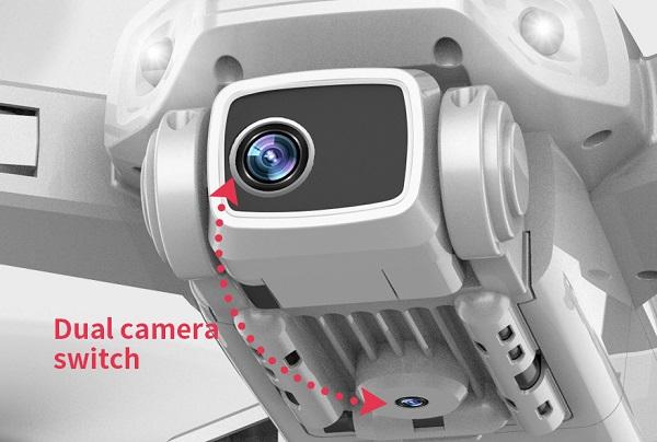 Dual camera switch on LYZRC L900 drone