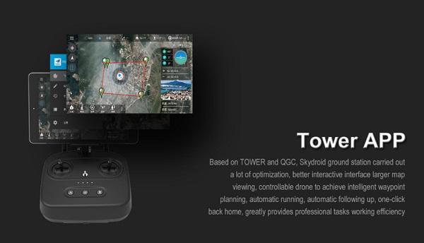 SKYDROID MX450 Tower APP