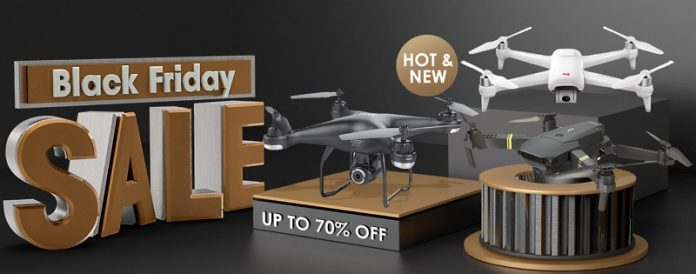 Banner of Black Friday Drone Sales 2020