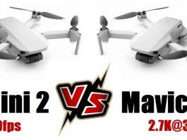 DJI MINI 2 versus Mavic Mini