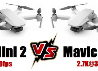 DJI MINI 2 versus Mavic Mini