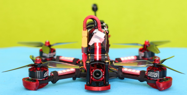 LED light settings of HGLRC Sector 5 V3 drone
