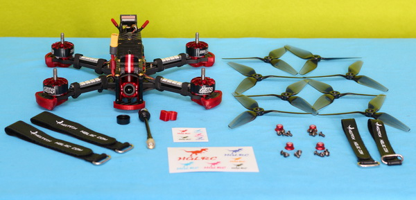 Included accessories with HGLRC Sector 5 V3 drone