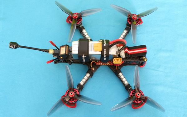 Correct propeller orientation on HGLRC Sector 5 V3 drone