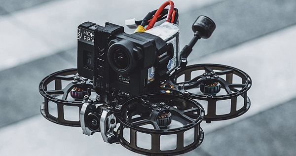 HOMFPV Micron with Naked GoPro