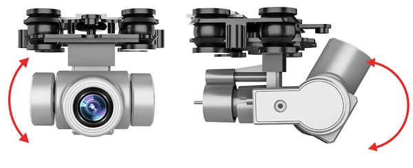 Gimbal of L106 Pro drone