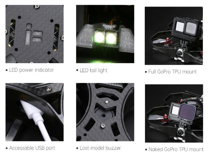 iFlight Protek35 main parts