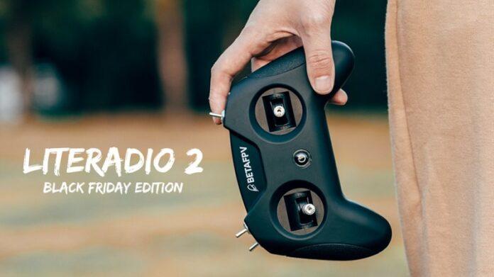 Photo of BETAFPV LiteRadio 2 remote controller