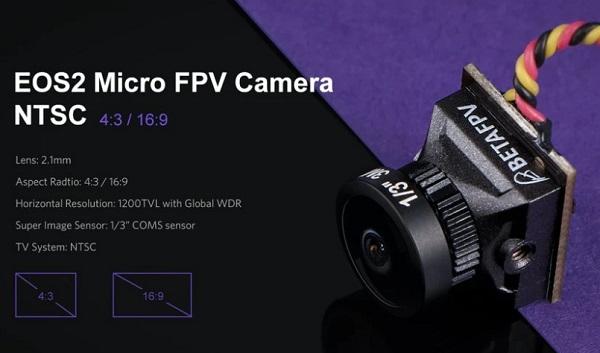 Beta95X V3 EOS2 camera specs