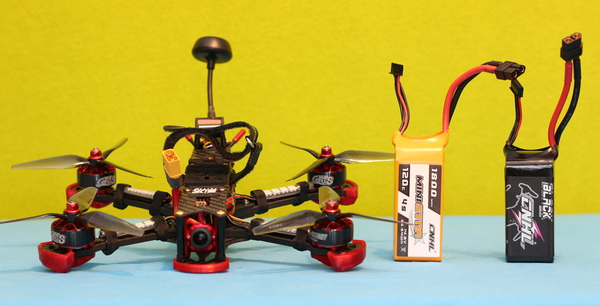 China Hobby Line LIPO review: Black vs MiniStar series