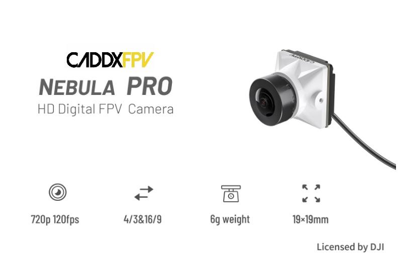 Caddx Nebula Pro camera for DJI Air Unit and Vista | First Quadcopter