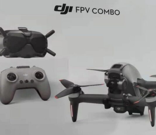 DJI FPV Drone leaked photo