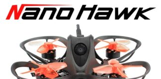 Photo of Emax Nanohawk drone