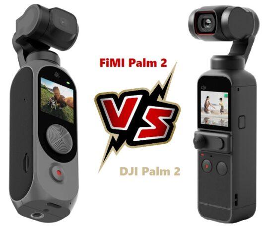 Xiaomi FIMI Palm 2 versus DJI Osmo Pocket 2