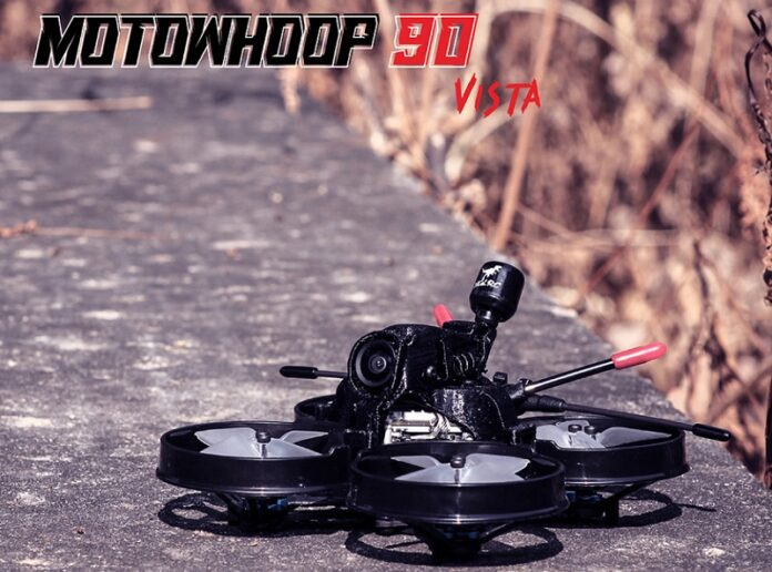 Photo of HGLRC MotoWhoop 90HD drone