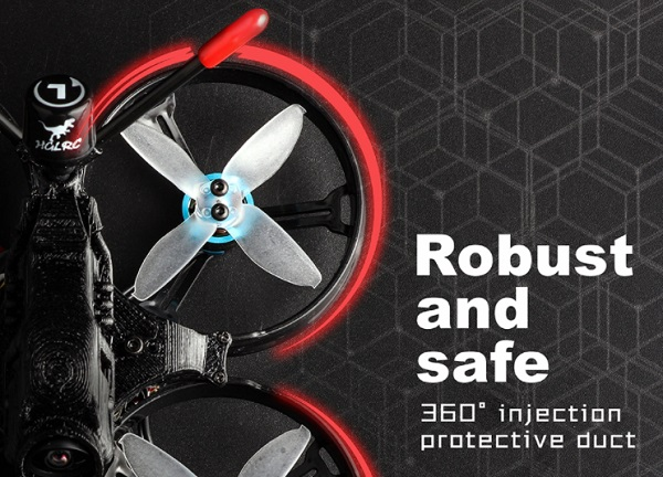 Robust 360degree Whoop protectors