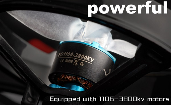 Powerful brushless motors