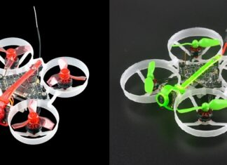 Happymodel Moblite6 and Moblite7 side by side photo