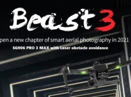 Photo of SG906 PRO 3 MAX drone