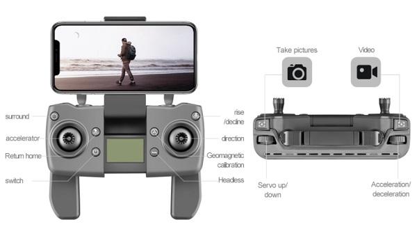 Remote controller of M1 Pro drone