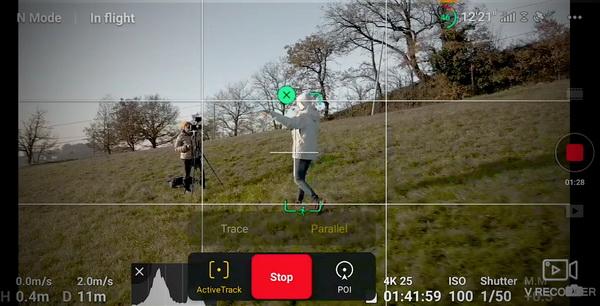 Mavic Air 2 Active Tracking explained