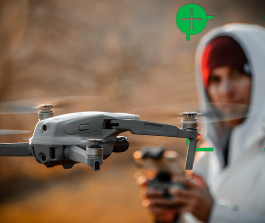 DJI Mavic Air 2 tracking and quickshots explained
