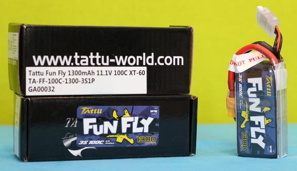 Tattu FunFly 3s 1300mAh 100C review