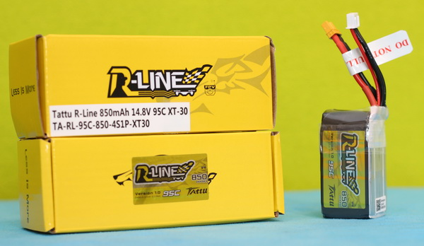 R-Line 4S 850mAh 95C review