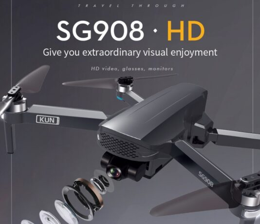 Photo of ZLL SG908 drone