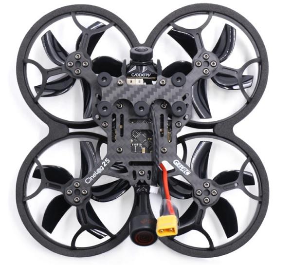 Pusher design of CineLog 25 drone