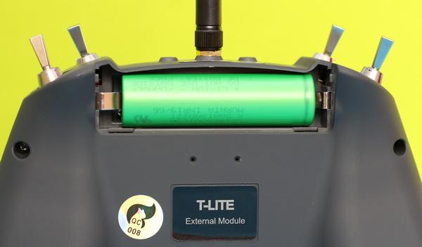 Right battery polarity