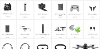 DJI FPV Drone Spare Parts and Accessories