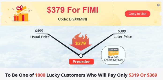 FIMI MINI discount code deal