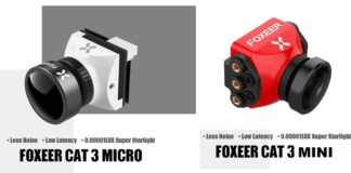 Photo of Foxeer Cat 3 cameras