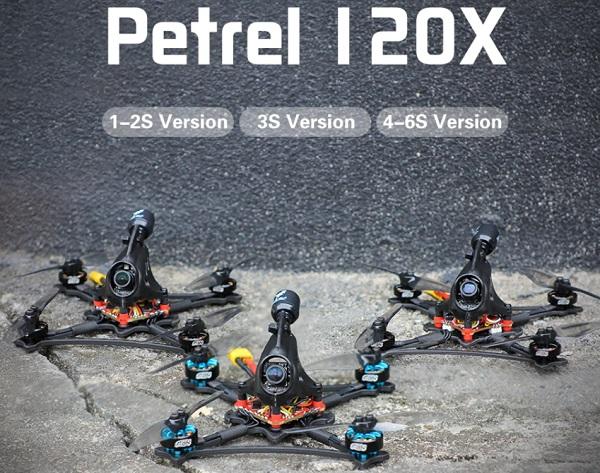 Petrel 120X series roadmap