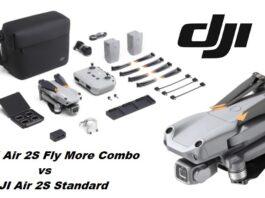 DJI Air 2S Fly More Combo vs Standard box