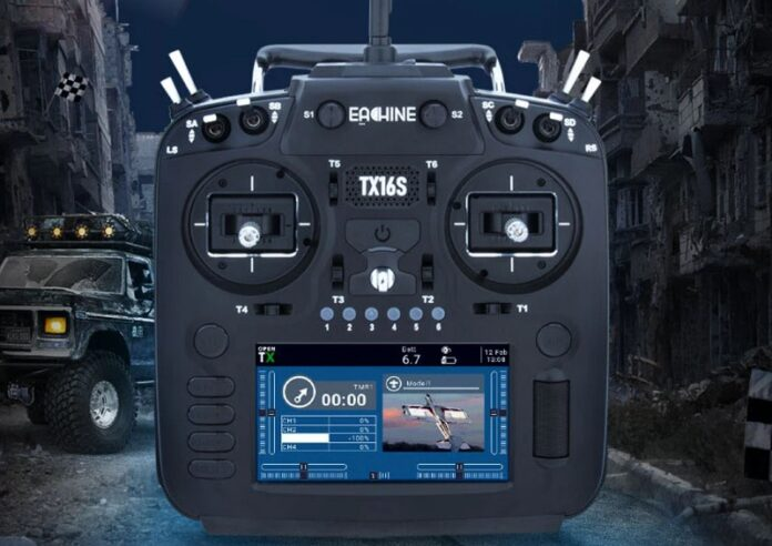 Photo of Eachine TX16S remote controller