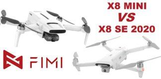 FIMI MINI versus FIMI X8 SE