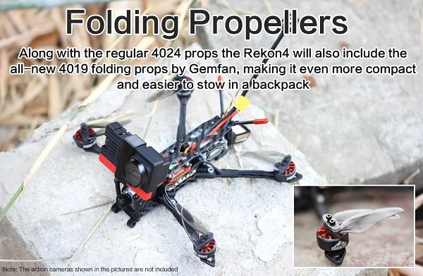 Folding props