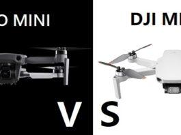 Hubsan Zino MINI Pro vs DJI Mavic MINI 2
