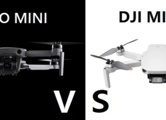 Hubsan Zino MINI Pro vs DJI Mavic MINI 2